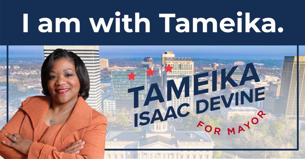 Tameika Isaac Devine for Mayor - Social Media Toolkit