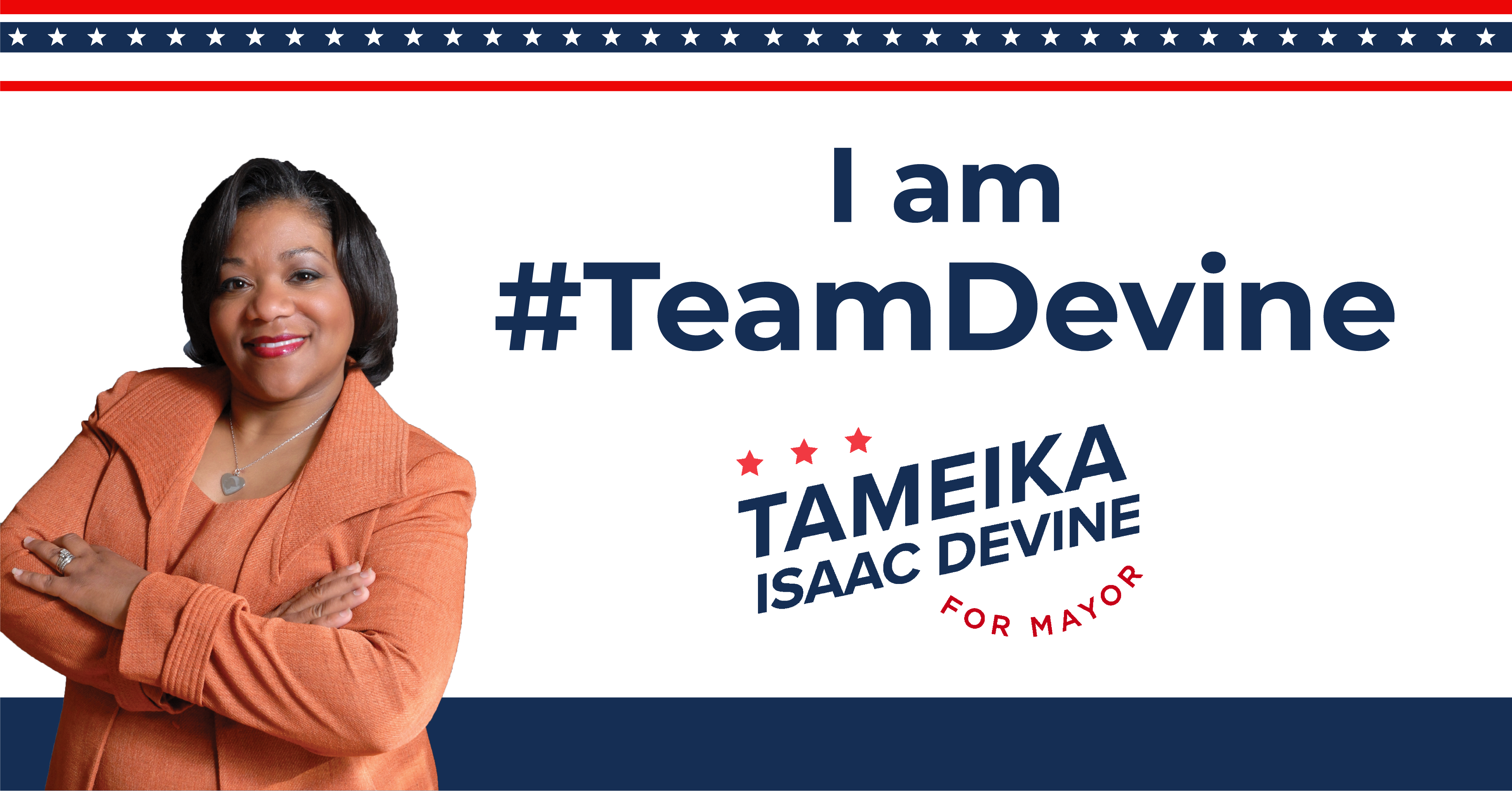 Tameika Isaac Devine for Mayor - Social Media Toolkit